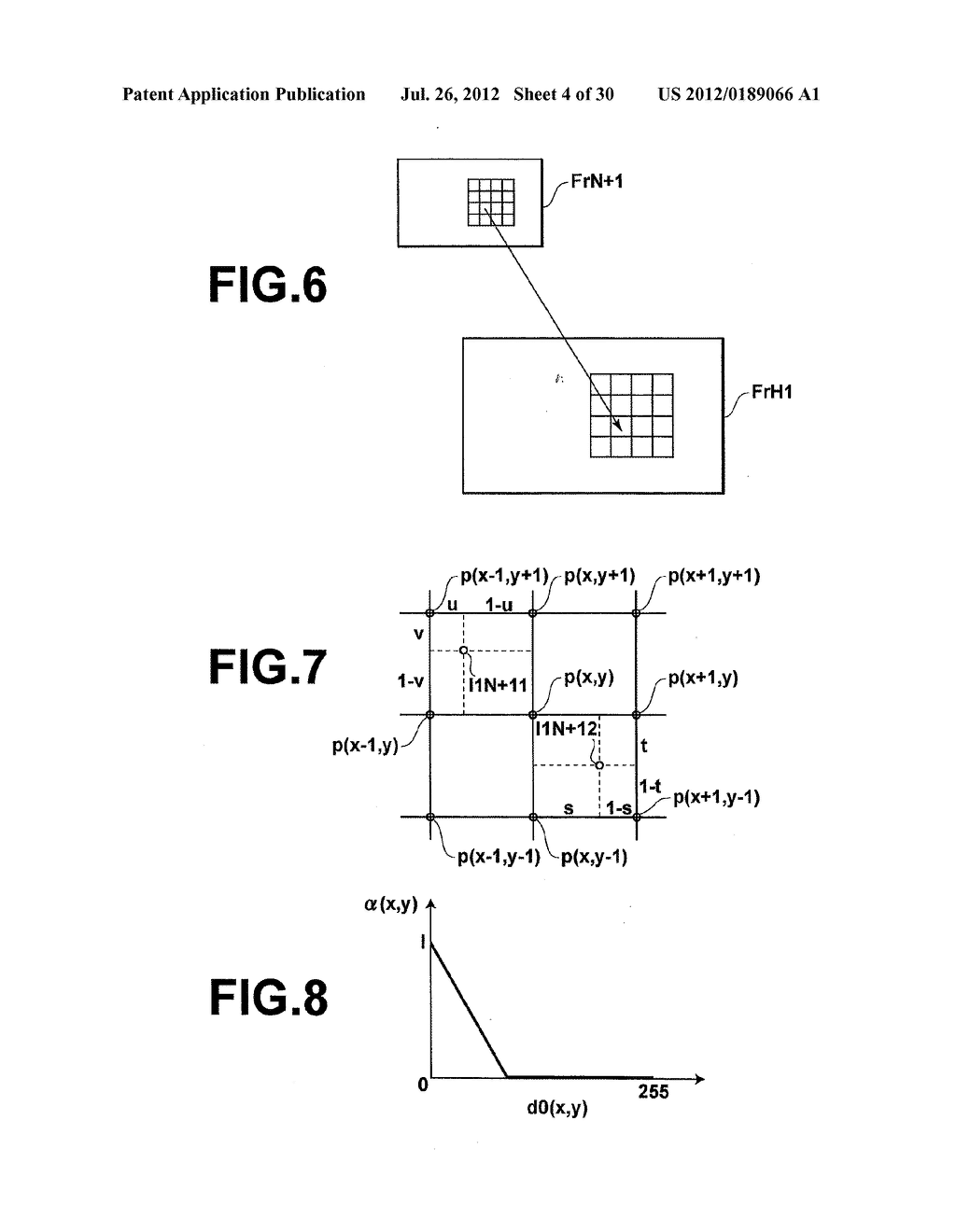 METHOD AND DEVICE FOR VIDEO IMAGE PROCESSING, CALCULATING THE SIMILARITY     BETWEEN VIDEO FRAMES, AND ACQUIRING A SYNTHESIZED FRAME BY SYNTHESIZING A     PLURALITY OF CONTIGUOUS SAMPLED FRAMES - diagram, schematic, and image 05