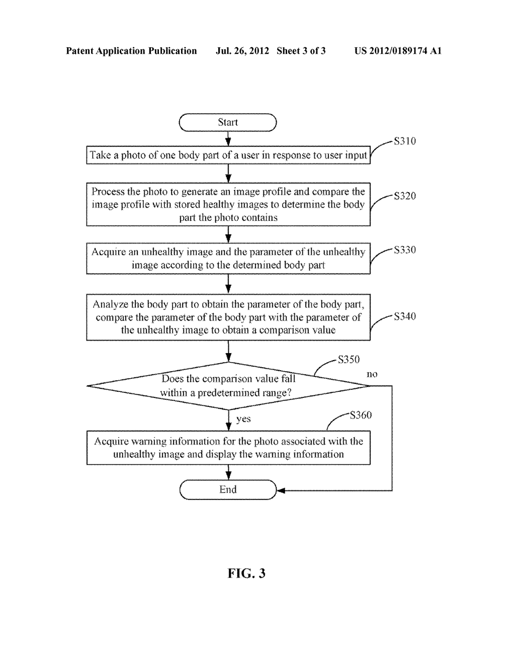 ELECTRONIC DEVICE AND WARNING INFORMATION GENERATING METHOD THEREOF - diagram, schematic, and image 04