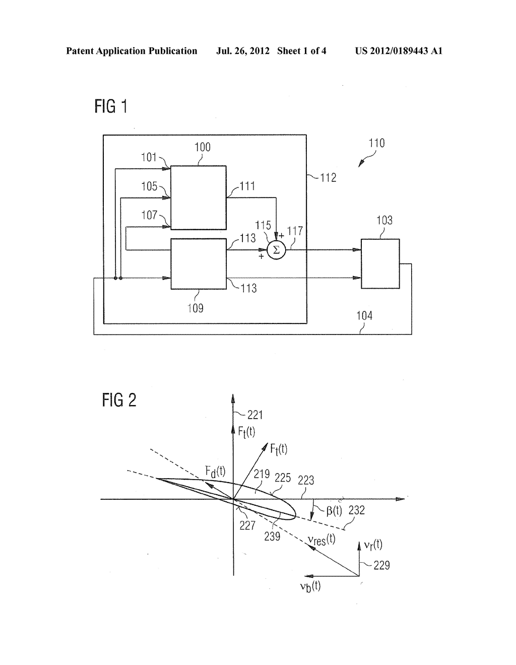 Methods and systems for determining a pitch angle offset signal and for     controlling a rotor frequency of a rotor of a wind turbine for speed     avoidance control - diagram, schematic, and image 02