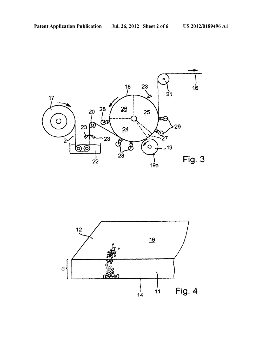 SPREADING LAYER AND METHOD FOR PRODUCING AN ANALYSIS ELEMENT SPREADING     LAYER - diagram, schematic, and image 03