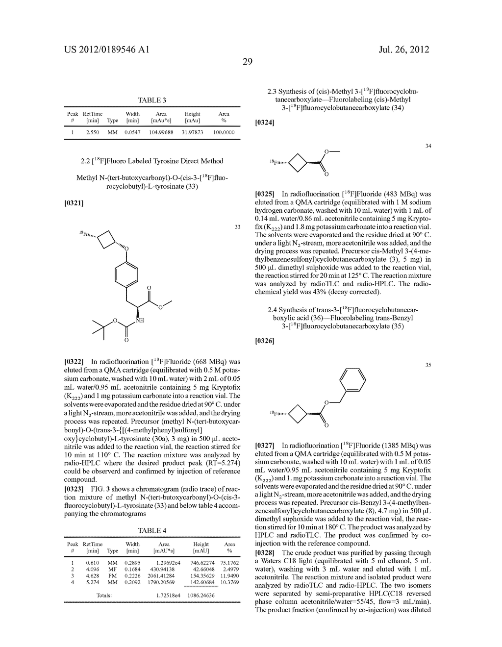 Radiolabelling Method Using Cycloalkyl Groups - diagram, schematic, and image 39
