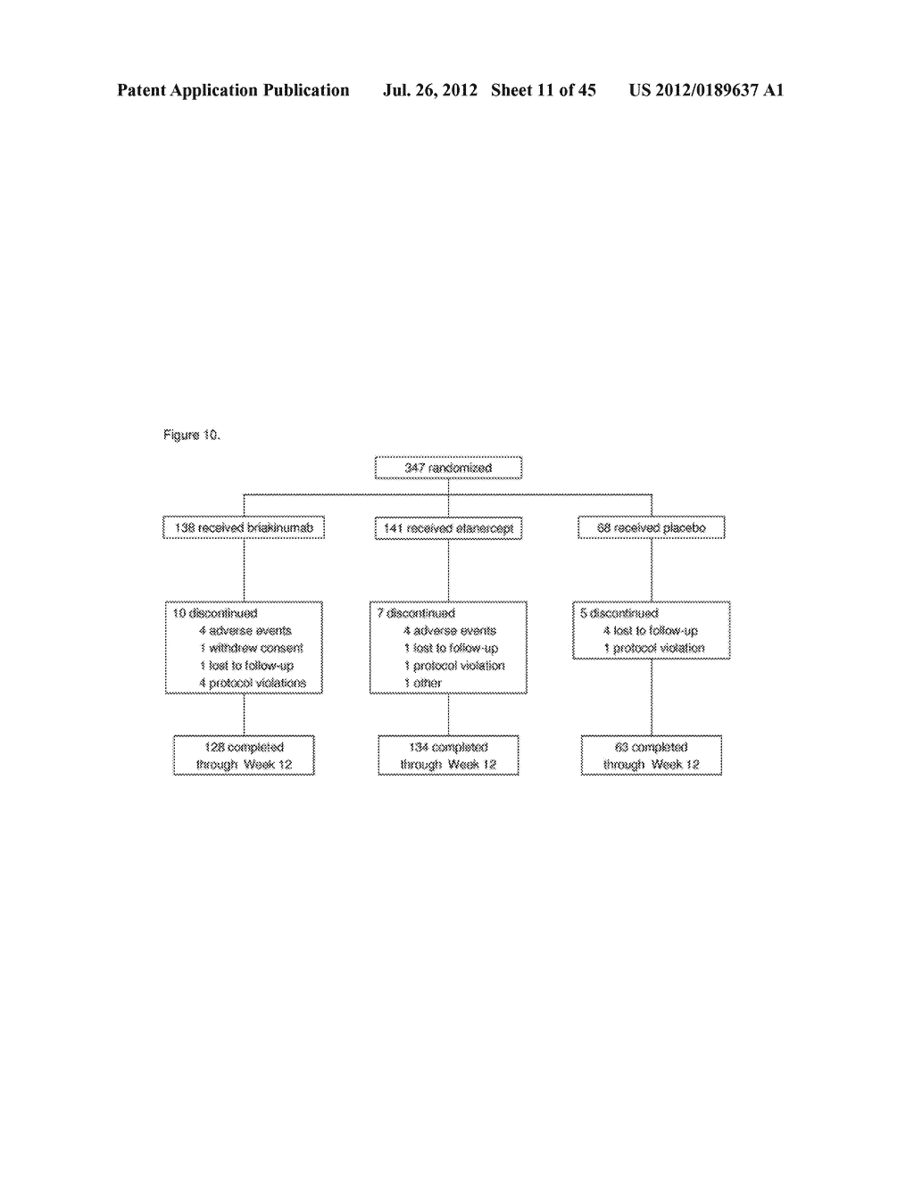 METHODS FOR TREATING PSORIASIS - diagram, schematic, and image 12