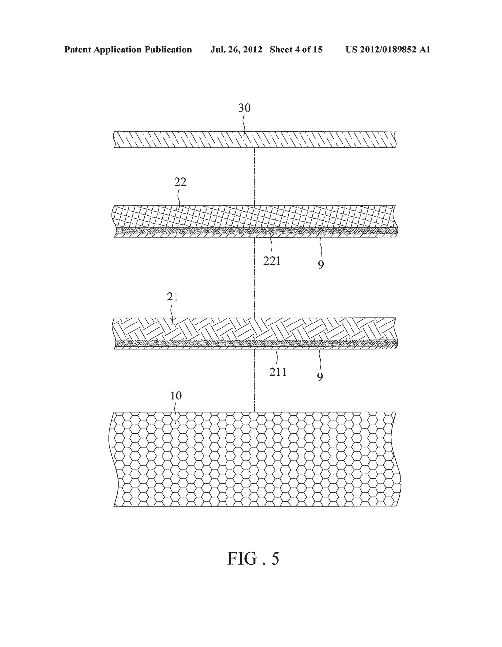 Multi-layer Decorating Element and Method of its Manufacture - diagram, schematic, and image 05