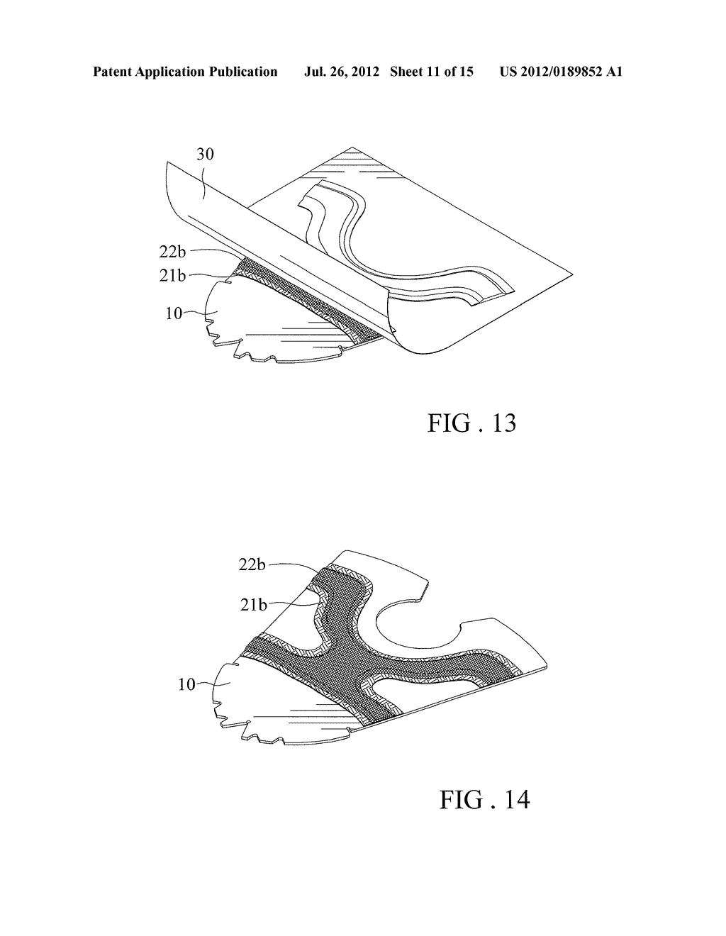Multi-layer Decorating Element and Method of its Manufacture - diagram, schematic, and image 12