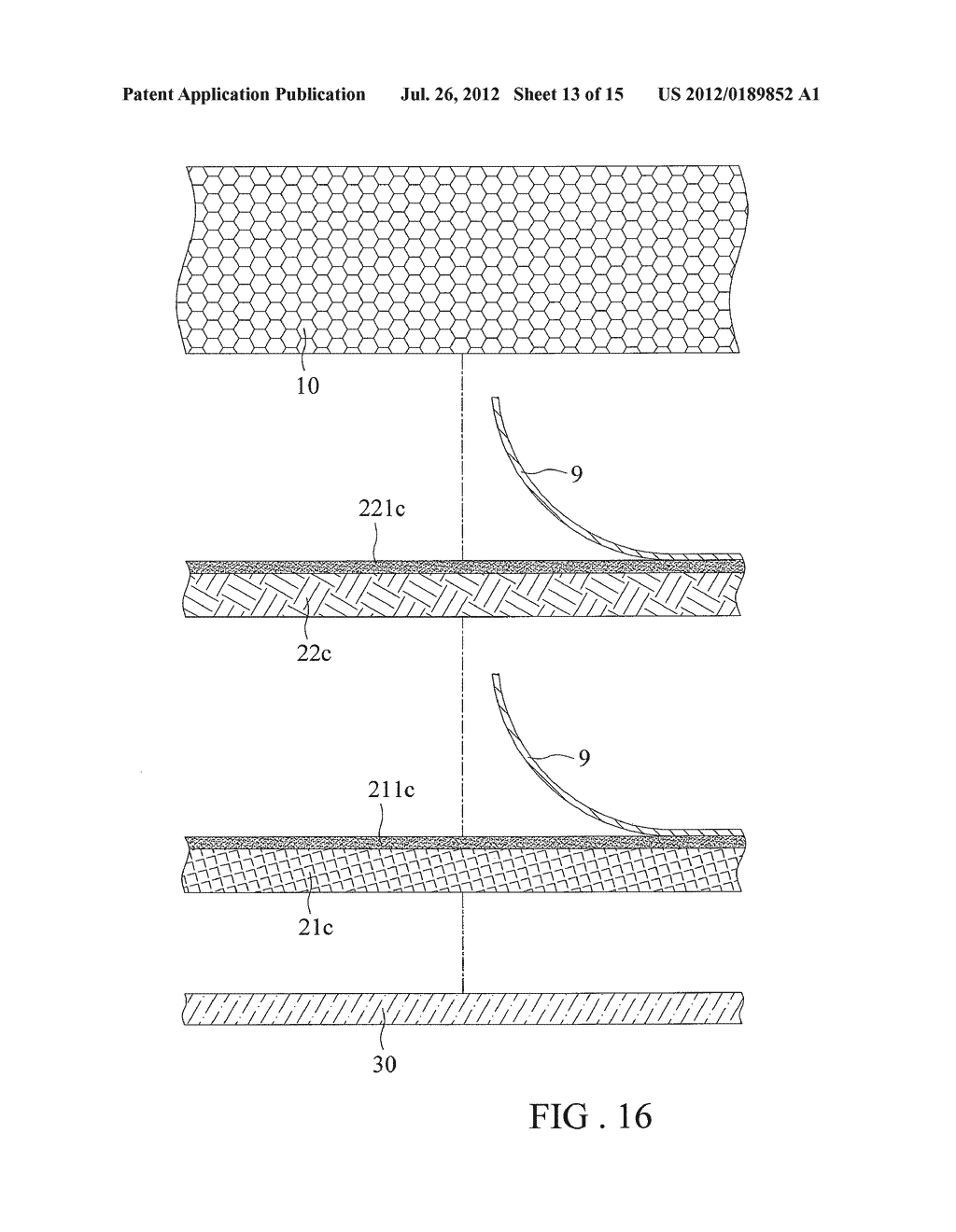 Multi-layer Decorating Element and Method of its Manufacture - diagram, schematic, and image 14