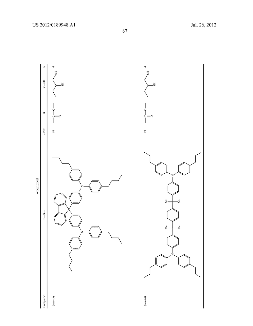 CHARGE TRANSPORT FILM, ORGANIC ELECTRONIC DEVICE, ELECTROPHOTOGRAPHIC     PHOTORECEPTOR, PROCESS CARTRIDGE, AND IMAGE FORMING APPARATUS - diagram, schematic, and image 94