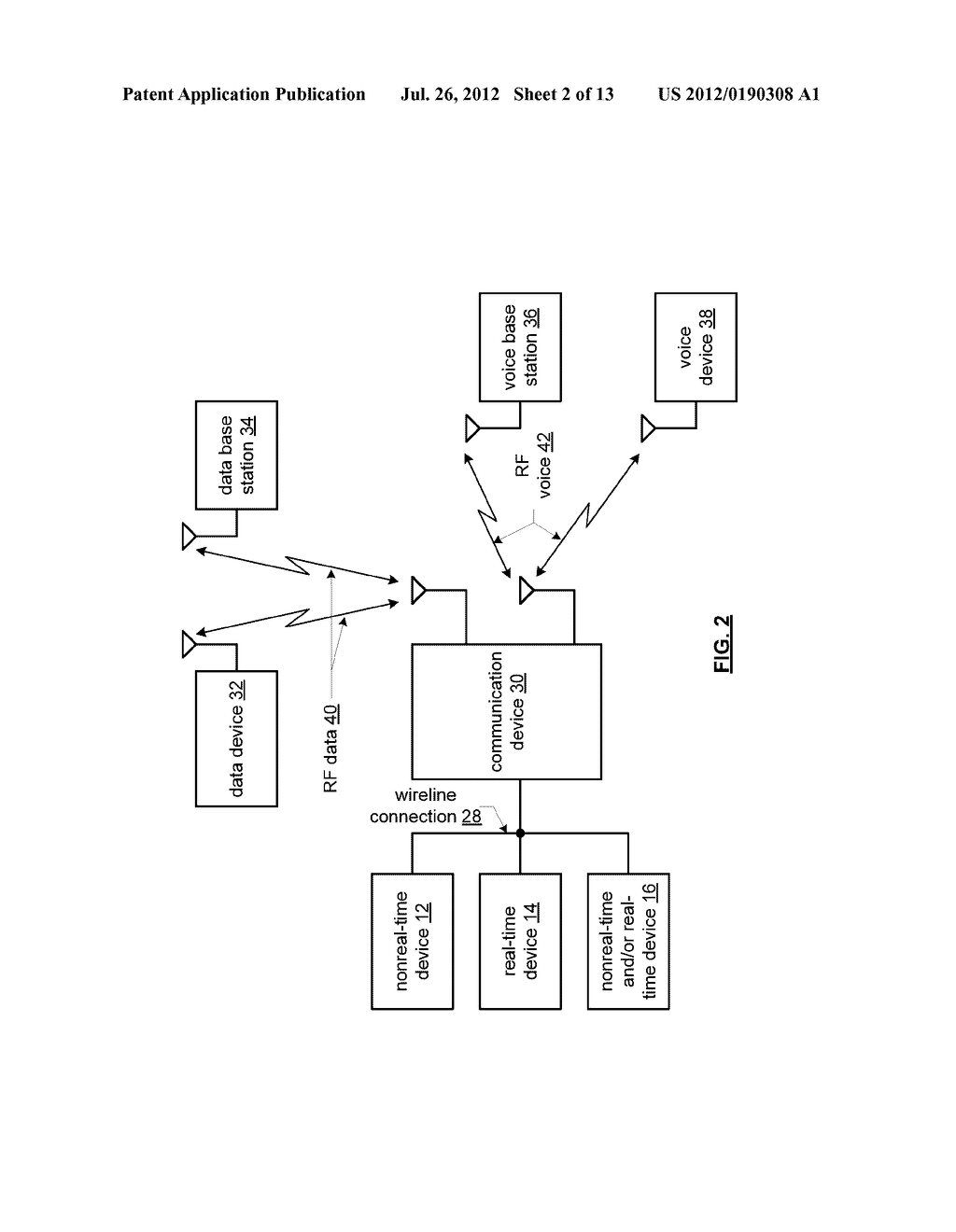 TRANSCEIVER WITH PLURAL SPACE HOPPING PHASED ARRAY ANTENNAS AND METHODS     FOR USE THEREWITH - diagram, schematic, and image 03
