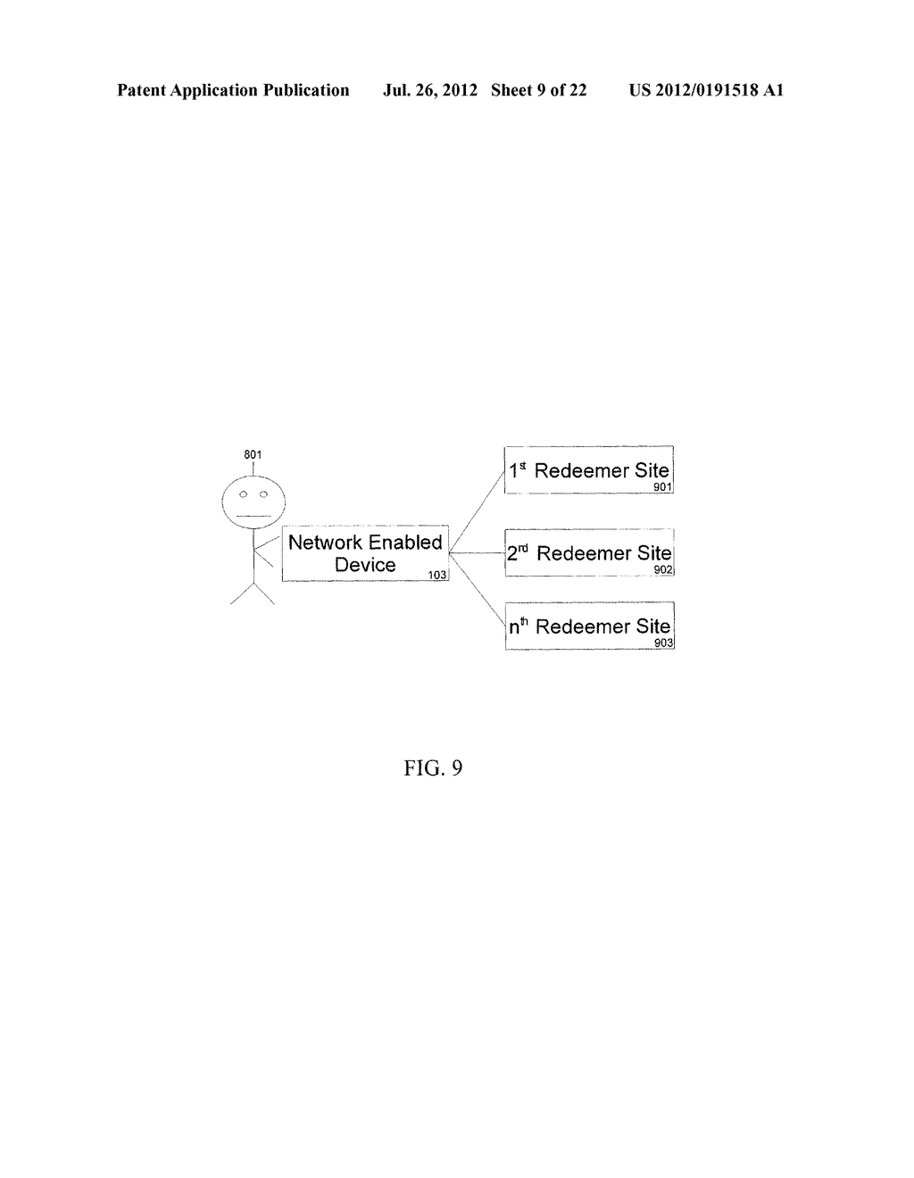 Apparatus And Method For Anonymously Presenting Targeted Advertisements     And Desirable Media Content In Association With A Virtual Currency - diagram, schematic, and image 10