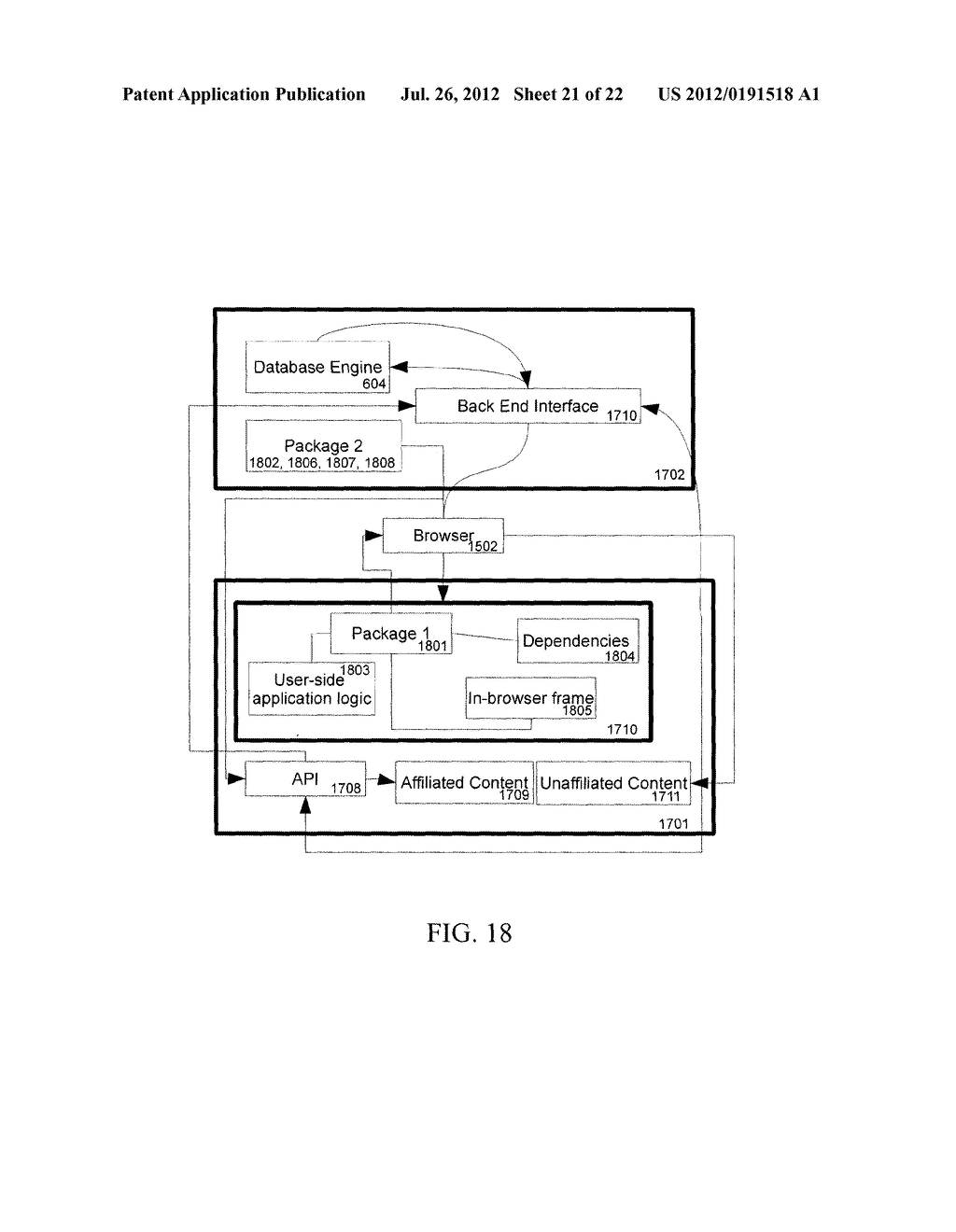 Apparatus And Method For Anonymously Presenting Targeted Advertisements     And Desirable Media Content In Association With A Virtual Currency - diagram, schematic, and image 22