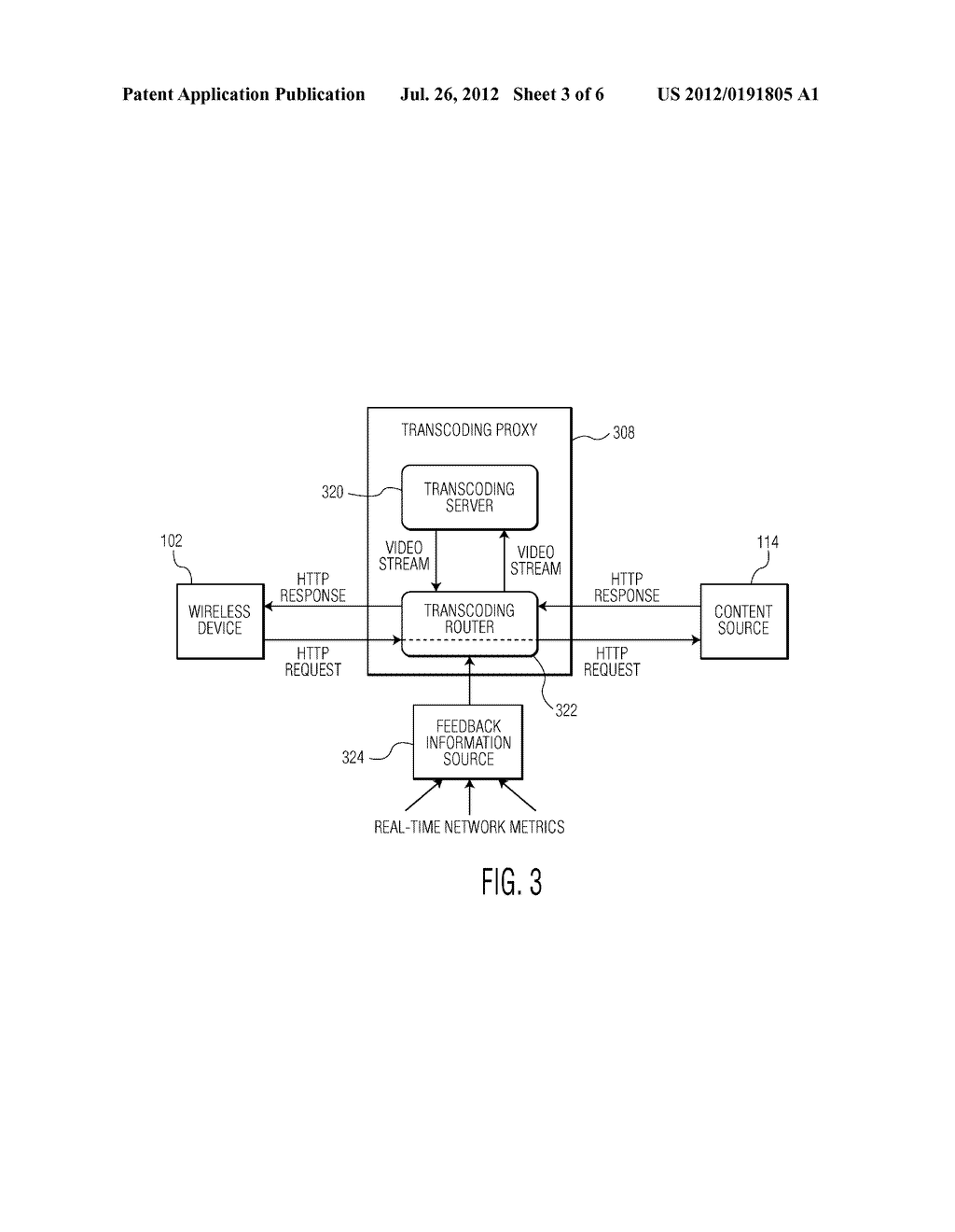 METHOD AND TRANSCODING PROXY FOR TRANSCODING A MEDIA STREAM THAT IS     DELIVERED TO AN END-USER DEVICE OVER A COMMUNICATIONS NETWORK - diagram, schematic, and image 04