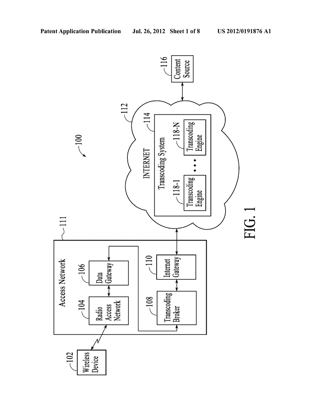 METHOD AND SYSTEM FOR POLICY BASED TRANSCODING BROKERING - diagram, schematic, and image 02