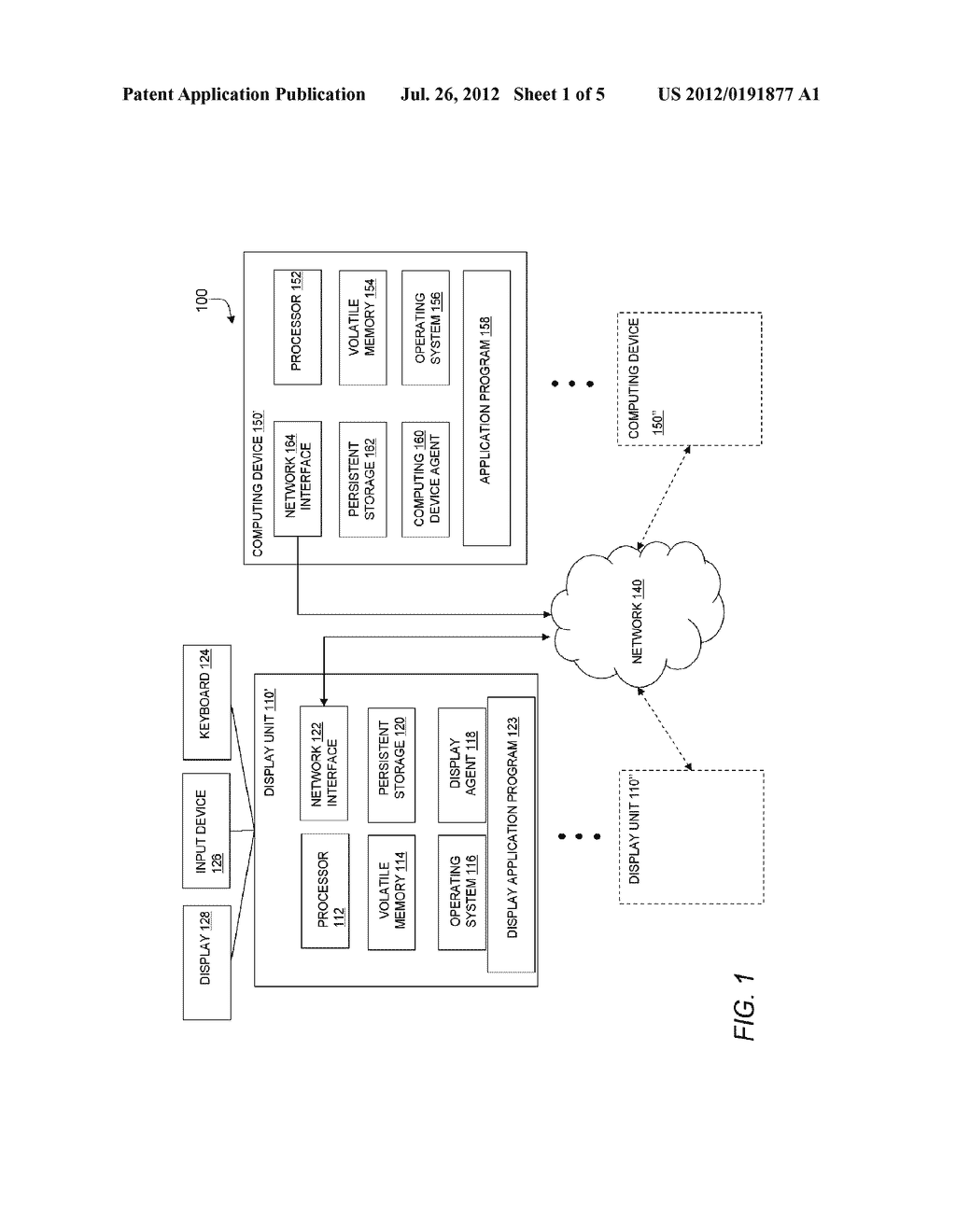 METHOD AND APPARATUS FOR UPDATING A GRAPHICAL DISPLAY IN A DISTRIBUTED     PROCESSING ENVIRONMENT - diagram, schematic, and image 02