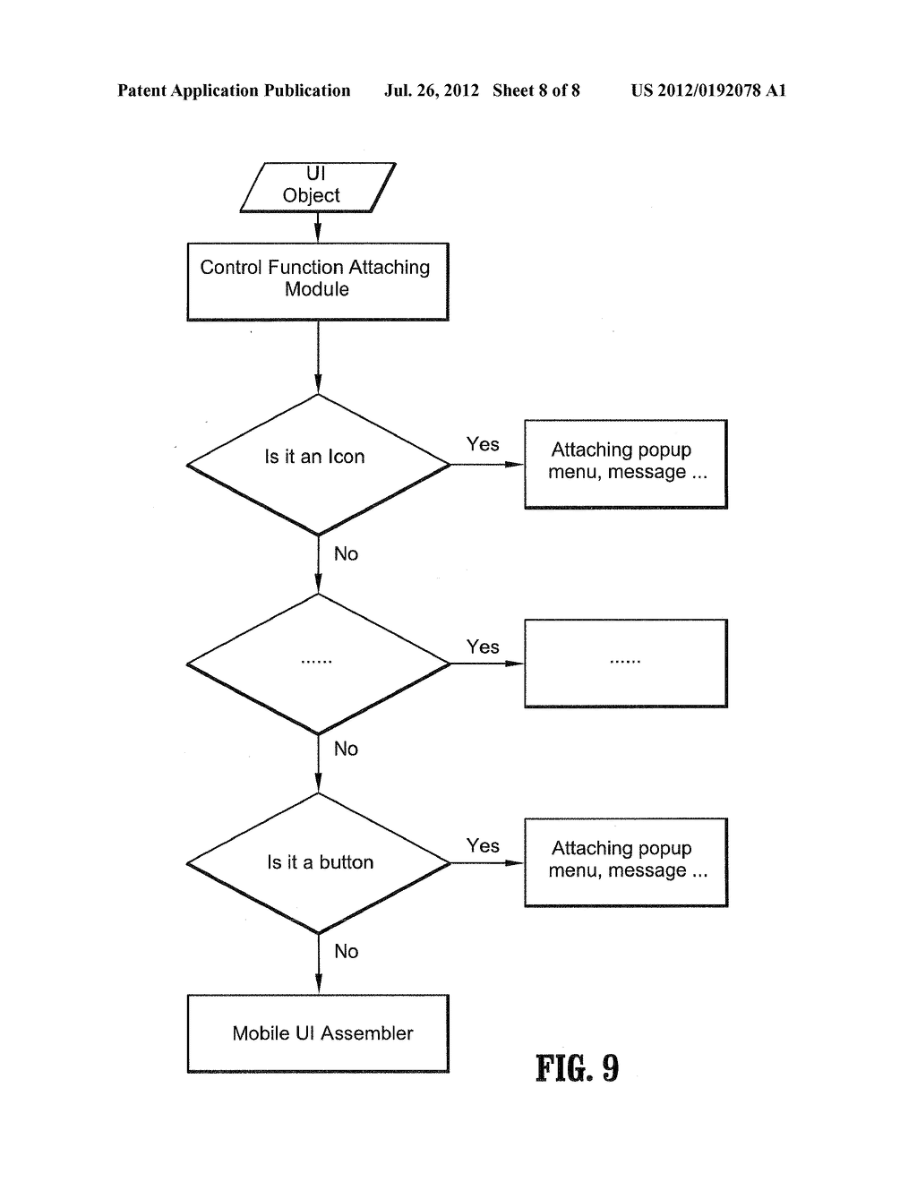 METHOD AND SYSTEM OF MOBILE VIRTUAL DESKTOP AND VIRTUAL TRACKBALL THEREFOR - diagram, schematic, and image 09