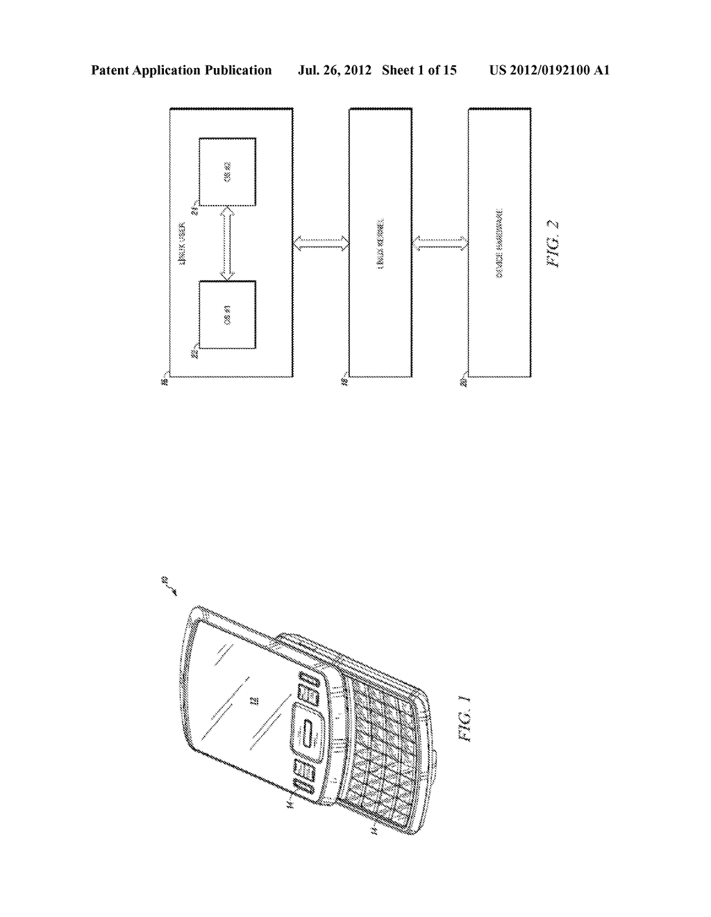METHOD AND APPARATUS FOR LOCKING AND UNLOCKING MULTIPLE OPERATING SYSTEM     ENVIRONMENTS WITH A SINGLE GESTURE INPUT - diagram, schematic, and image 02
