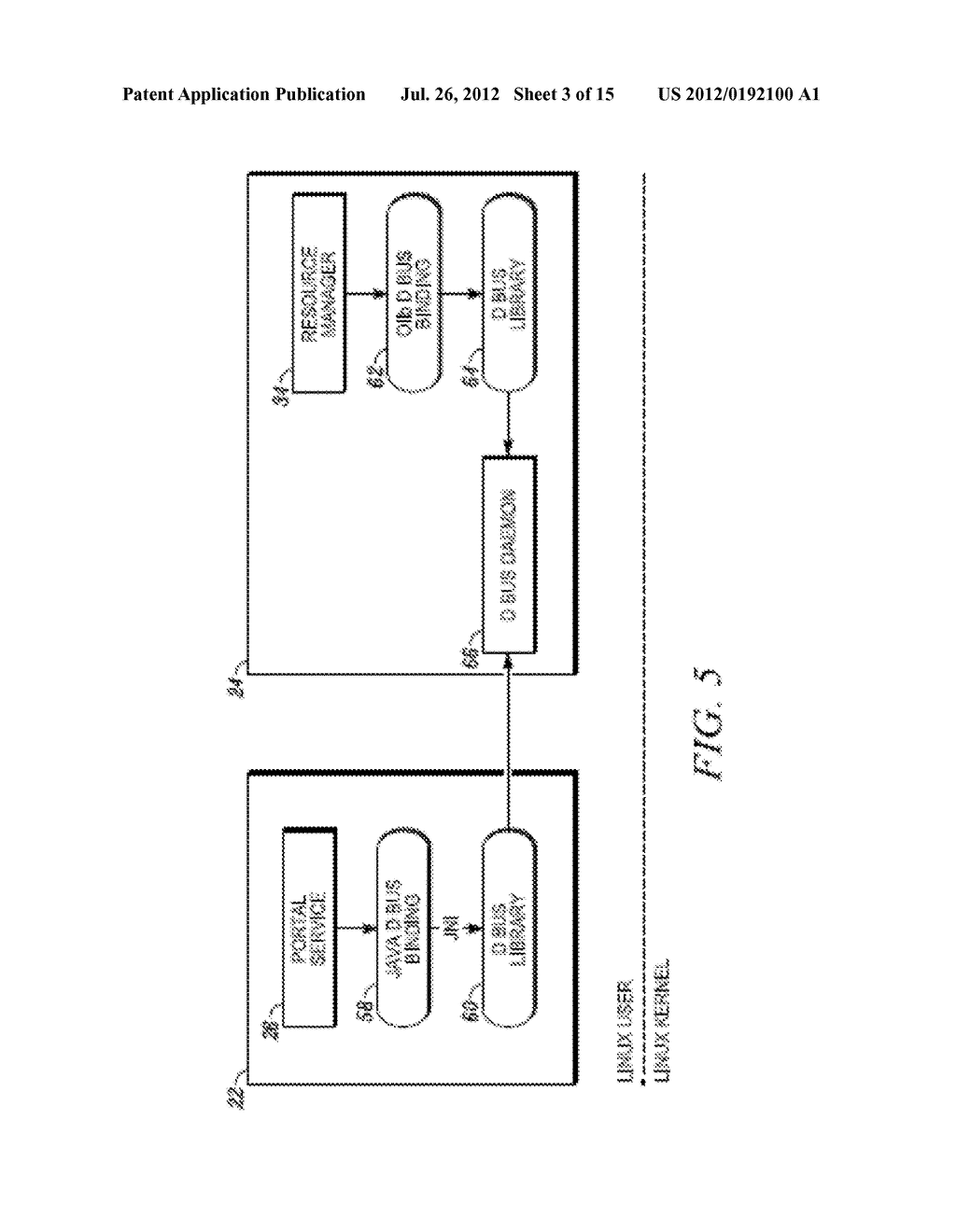 METHOD AND APPARATUS FOR LOCKING AND UNLOCKING MULTIPLE OPERATING SYSTEM     ENVIRONMENTS WITH A SINGLE GESTURE INPUT - diagram, schematic, and image 04