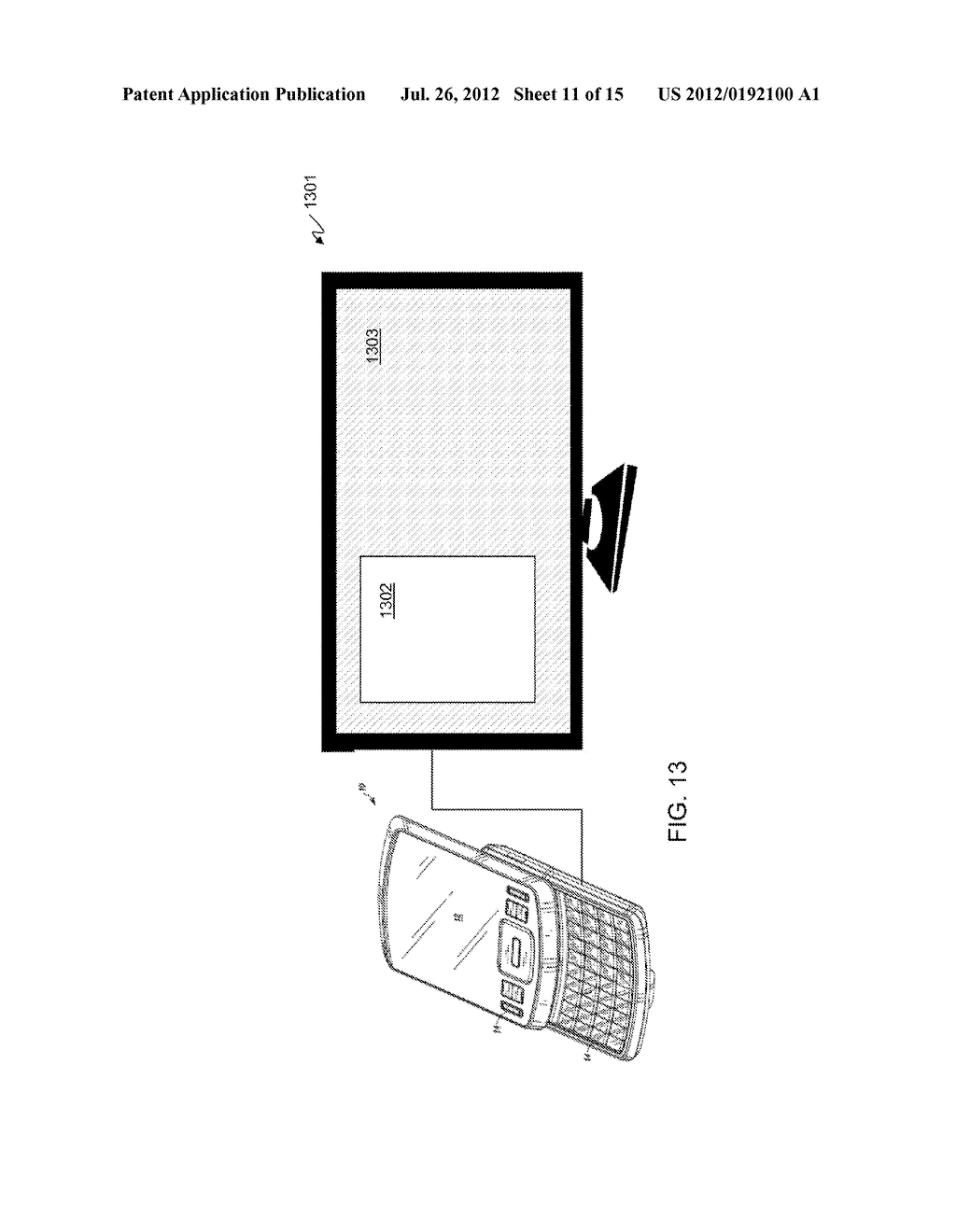 METHOD AND APPARATUS FOR LOCKING AND UNLOCKING MULTIPLE OPERATING SYSTEM     ENVIRONMENTS WITH A SINGLE GESTURE INPUT - diagram, schematic, and image 12