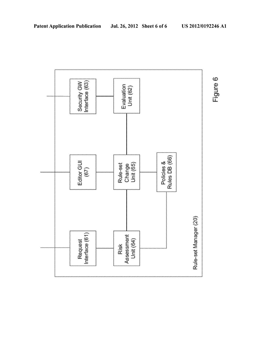 METHOD AND SYSTEM FOR MAPPING BETWEEN CONNECTIVITY REQUESTS AND A SECURITY     RULE SET - diagram, schematic, and image 07