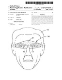 Multi-use eye mask or shield diagram and image