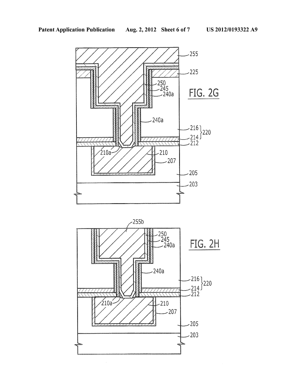 Methods of Forming Dual-Damascene Metal Wiring Patterns for Integrated     Circuit Devices and Wiring Patterns Formed Thereby - diagram, schematic, and image 07