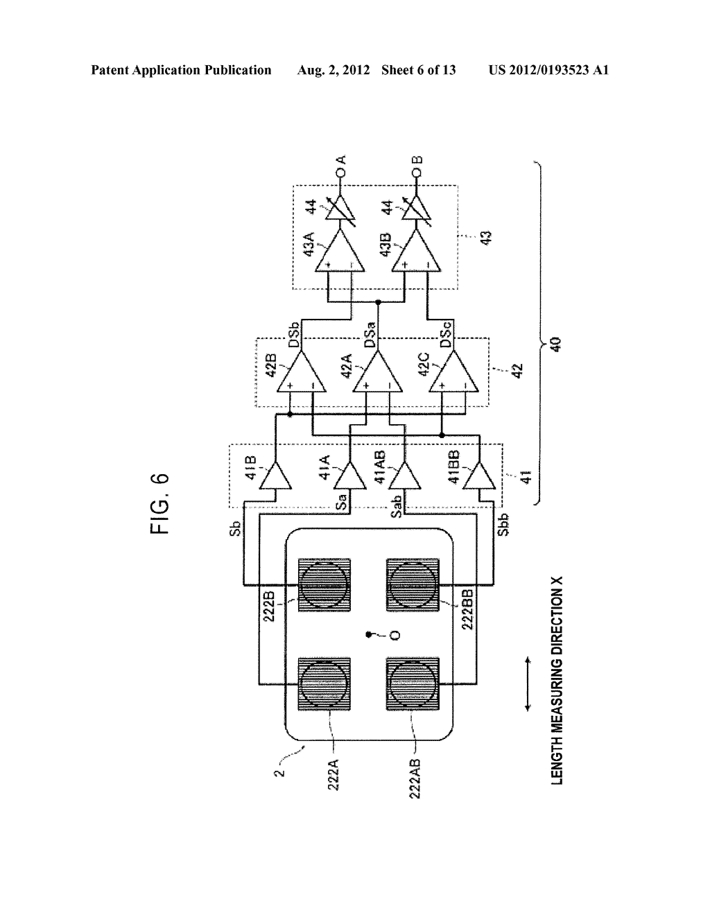OPTICAL ENCODER WITH MISALINGMENT DETECTION AND ADJUSTMENT METHOD     ASSOCIATED THEREWITH - diagram, schematic, and image 07