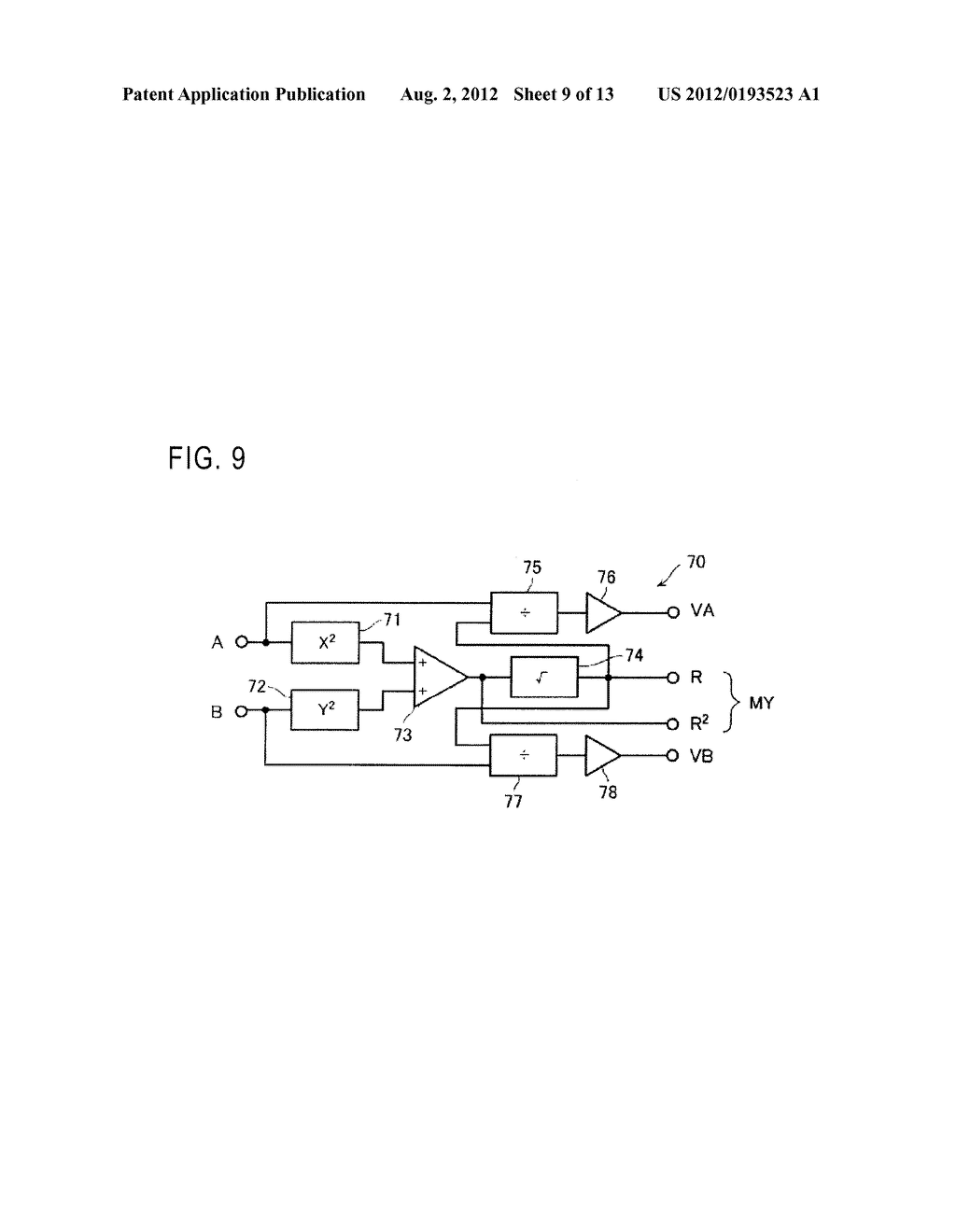 OPTICAL ENCODER WITH MISALINGMENT DETECTION AND ADJUSTMENT METHOD     ASSOCIATED THEREWITH - diagram, schematic, and image 10