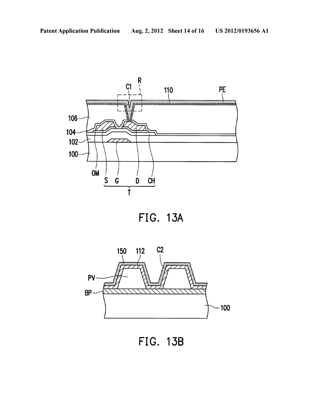 DISPLAY DEVICE STRUCTURE AND MANUFACTURING METHOD THEREOF - diagram, schematic, and image 15