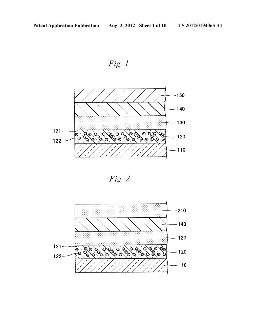 ORGANIC LED ELEMENT, GLASS FRIT FOR DIFFUSION LAYER FOR USE IN ORGANIC LED     ELEMENT, AND METHOD FOR PRODUCTION OF DIFFUSION LAYER FOR USE IN ORGANIC     LED ELEMENT - diagram, schematic, and image 02