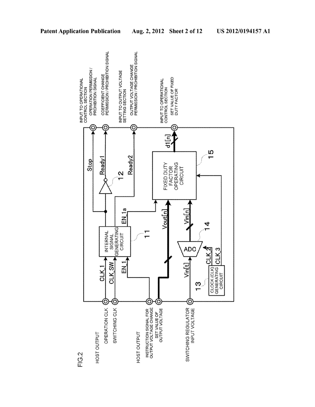SWITCHING REGULATOR PERFORMING OUTPUT VOLTAGE CHANGING FUNCTION - diagram, schematic, and image 03