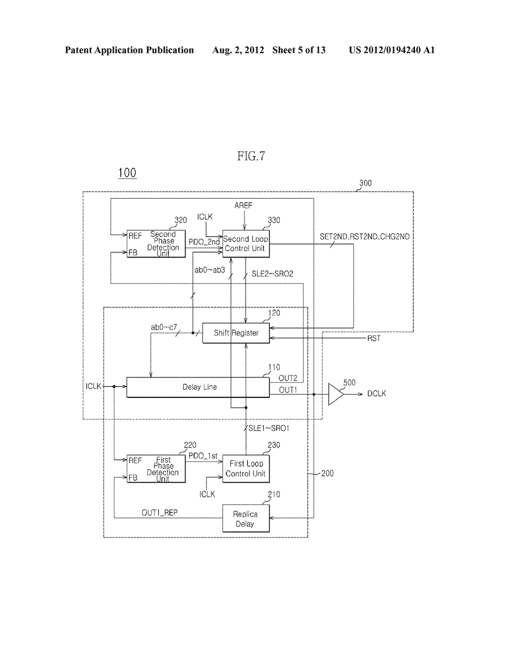 LATENCY CONTROL CIRCUIT AND METHOD OF CONTROLLING LATENCY - diagram, schematic, and image 06