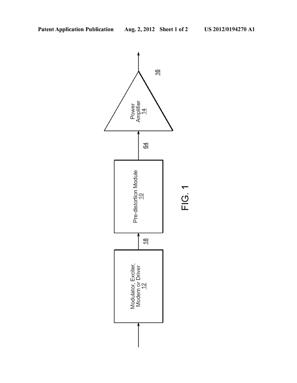 Broadband Linearization Module And Method - diagram, schematic, and image 02