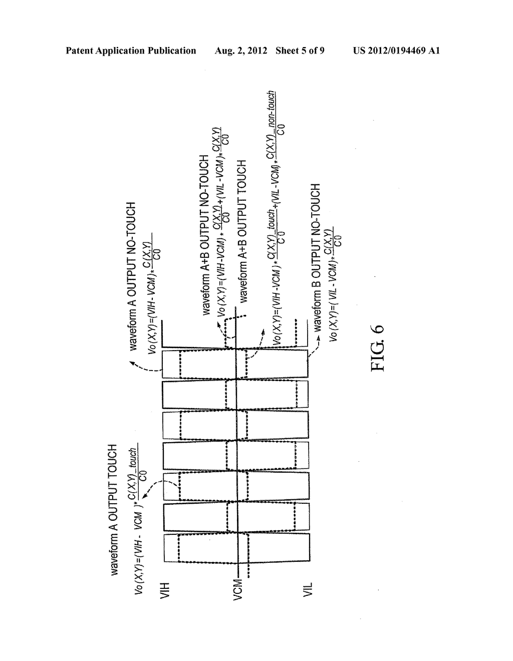 DEMODULATION METHOD AND SYSTEM FOR A LOW-POWER DIFFERENTIAL SENSING     CAPACITIVE TOUCH PANEL - diagram, schematic, and image 06