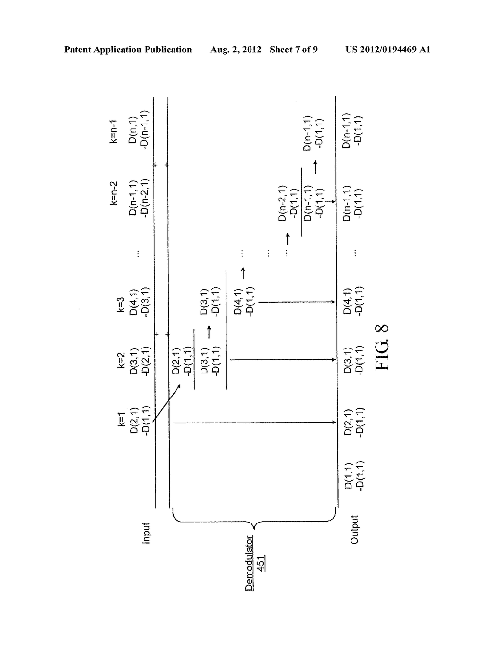 DEMODULATION METHOD AND SYSTEM FOR A LOW-POWER DIFFERENTIAL SENSING     CAPACITIVE TOUCH PANEL - diagram, schematic, and image 08