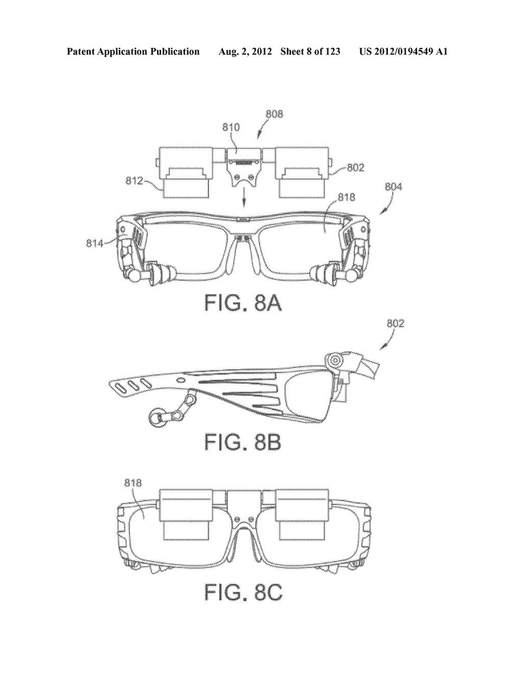 AR GLASSES SPECIFIC USER INTERFACE BASED ON A CONNECTED EXTERNAL DEVICE     TYPE - diagram, schematic, and image 09