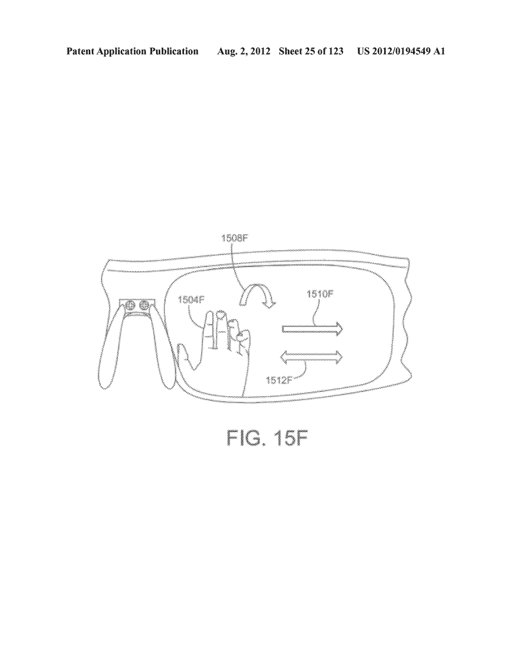 AR GLASSES SPECIFIC USER INTERFACE BASED ON A CONNECTED EXTERNAL DEVICE     TYPE - diagram, schematic, and image 26