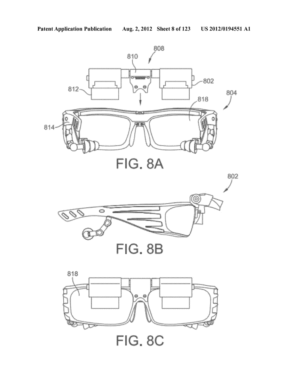 AR GLASSES WITH USER-ACTION BASED COMMAND AND CONTROL OF EXTERNAL DEVICES - diagram, schematic, and image 09