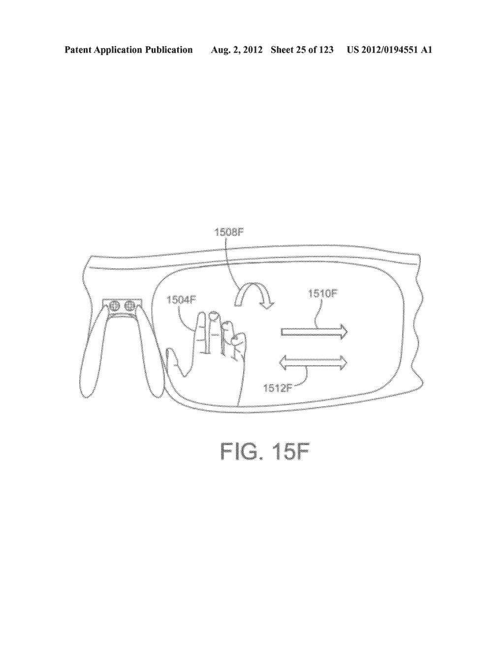 AR GLASSES WITH USER-ACTION BASED COMMAND AND CONTROL OF EXTERNAL DEVICES - diagram, schematic, and image 26