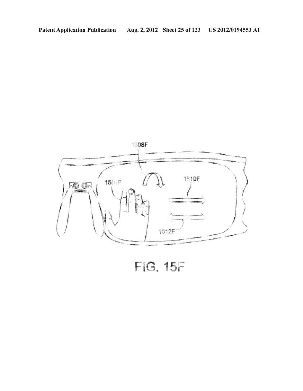 AR GLASSES WITH SENSOR AND USER ACTION BASED CONTROL OF EXTERNAL DEVICES     WITH FEEDBACK - diagram, schematic, and image 26