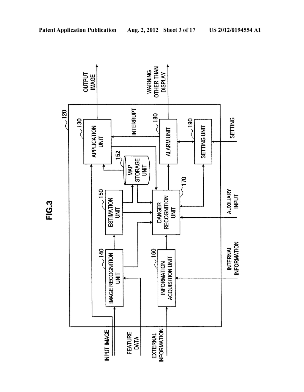 INFORMATION PROCESSING DEVICE, ALARM METHOD, AND PROGRAM - diagram, schematic, and image 04
