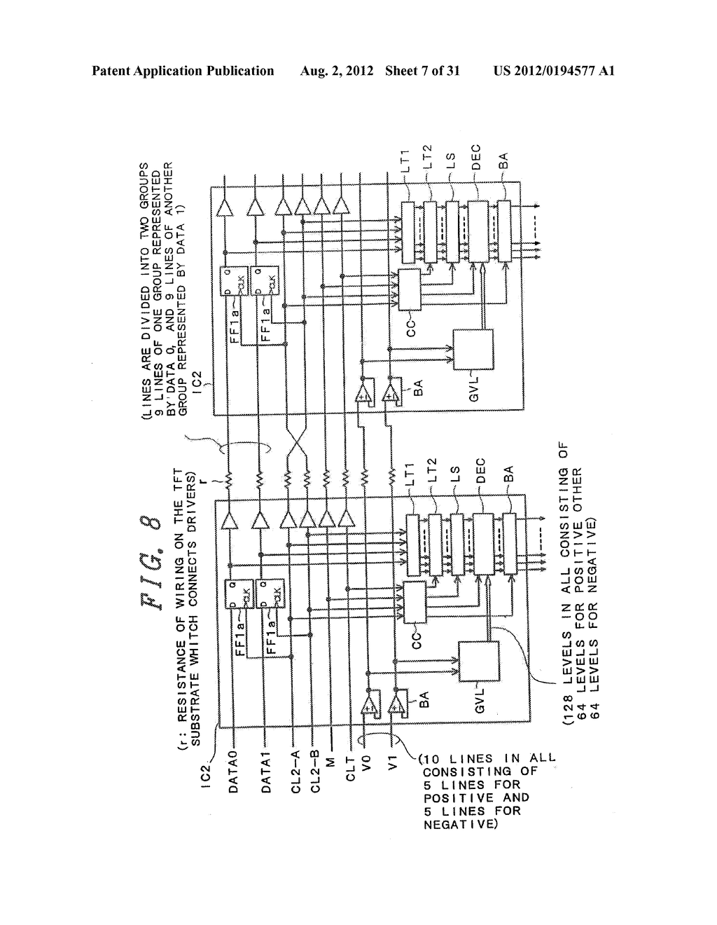 DRIVING METHOD FOR DISPLAY DEVICE - diagram, schematic, and image 08