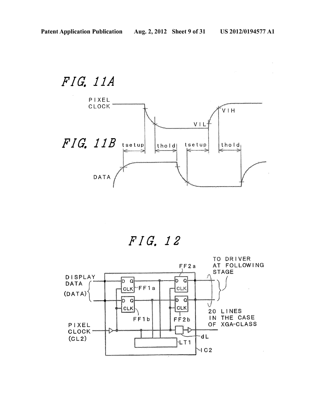 DRIVING METHOD FOR DISPLAY DEVICE - diagram, schematic, and image 10
