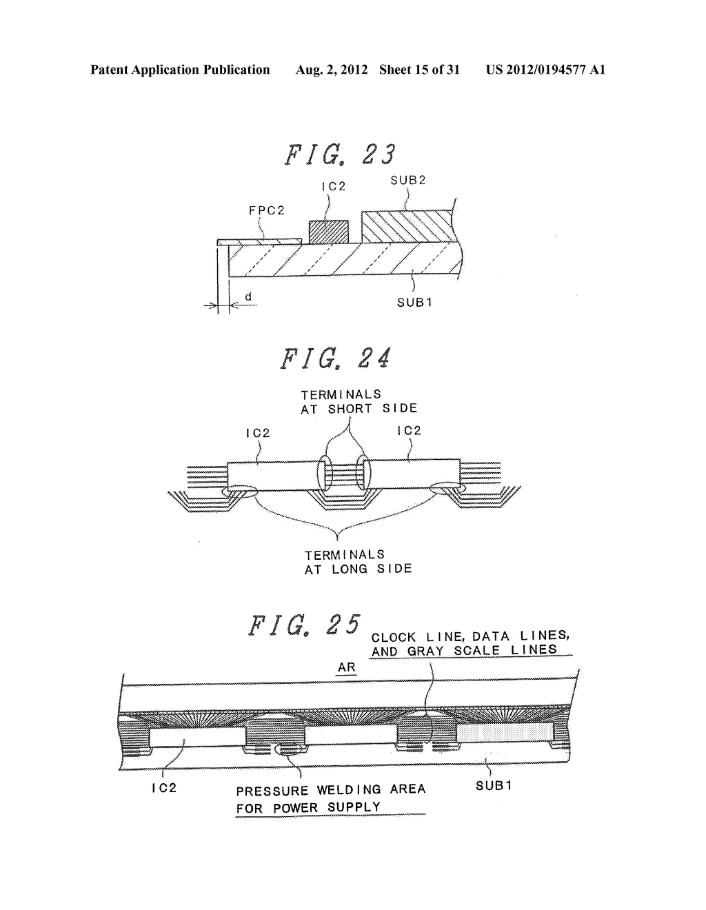 DRIVING METHOD FOR DISPLAY DEVICE - diagram, schematic, and image 16