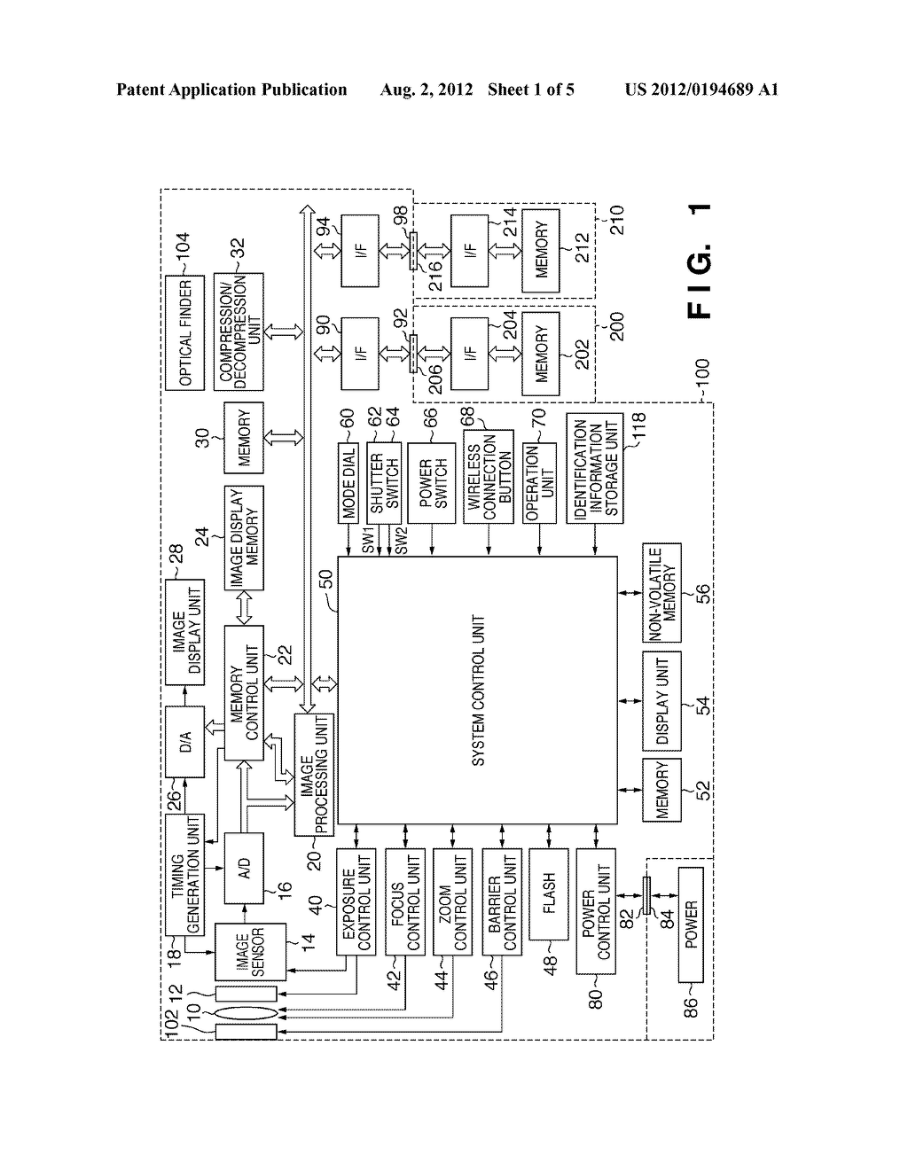 IMAGE-CAPTURING APPARATUS AND CONTROL METHOD OF THE IMAGE-CAPTURING     APPARATUS - diagram, schematic, and image 02