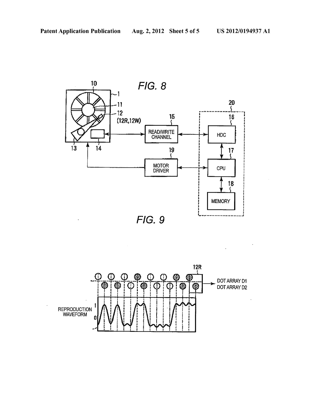 MAGNETIC RECORDING APPARATUS AND RECORDING METHOD OF MAGNETIC RECORDING     APPARATUS - diagram, schematic, and image 06
