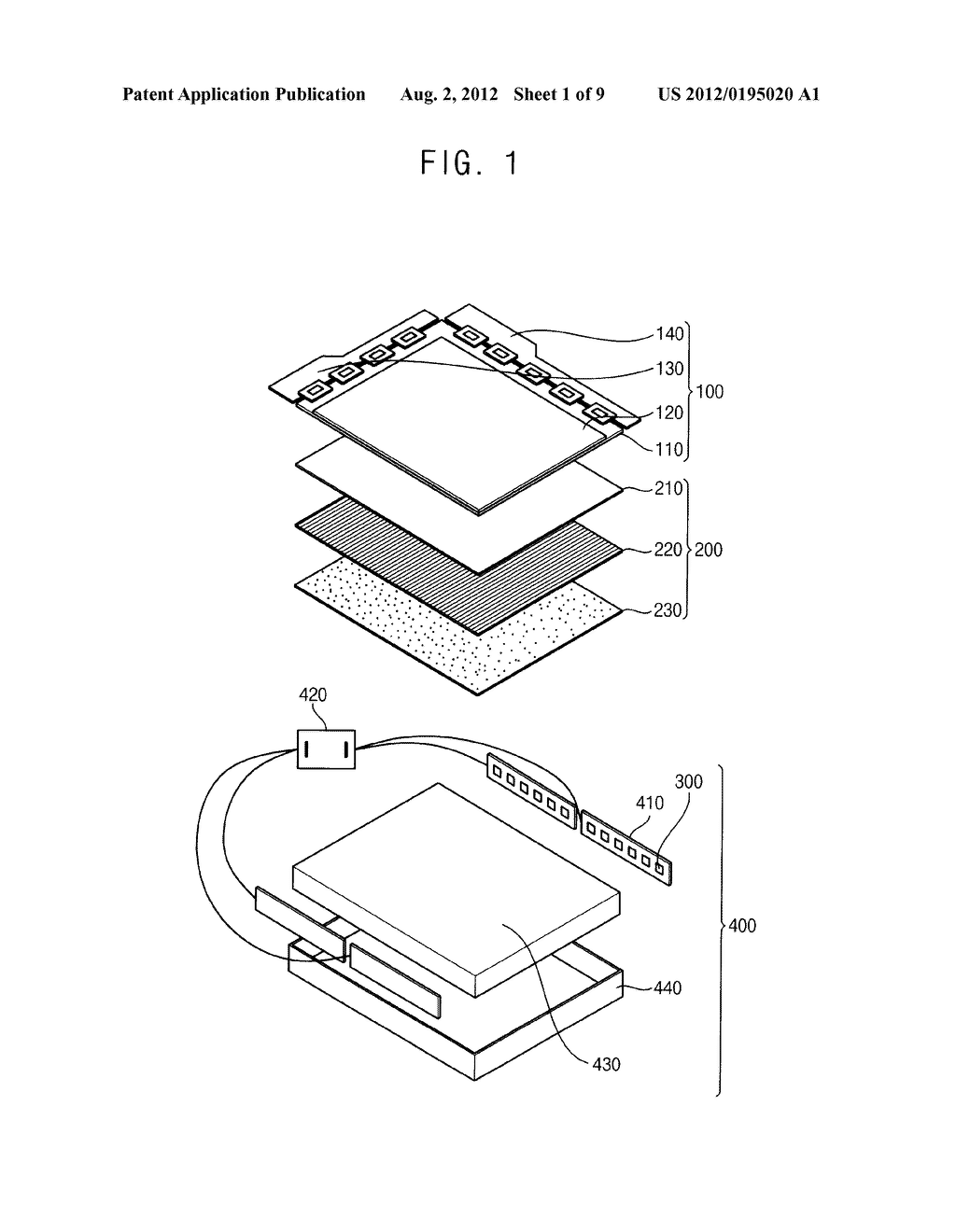 LIGHT SOURCE MODULE AND METHOD OF MANUFACTURING THE SAME - diagram, schematic, and image 02