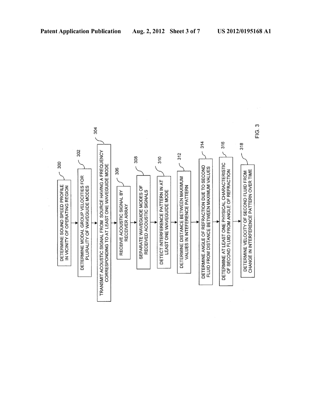METHOD FOR DETECTION OF A PLUME OF A FIRST FLUID WITHIN A SECOND FLUID - diagram, schematic, and image 04