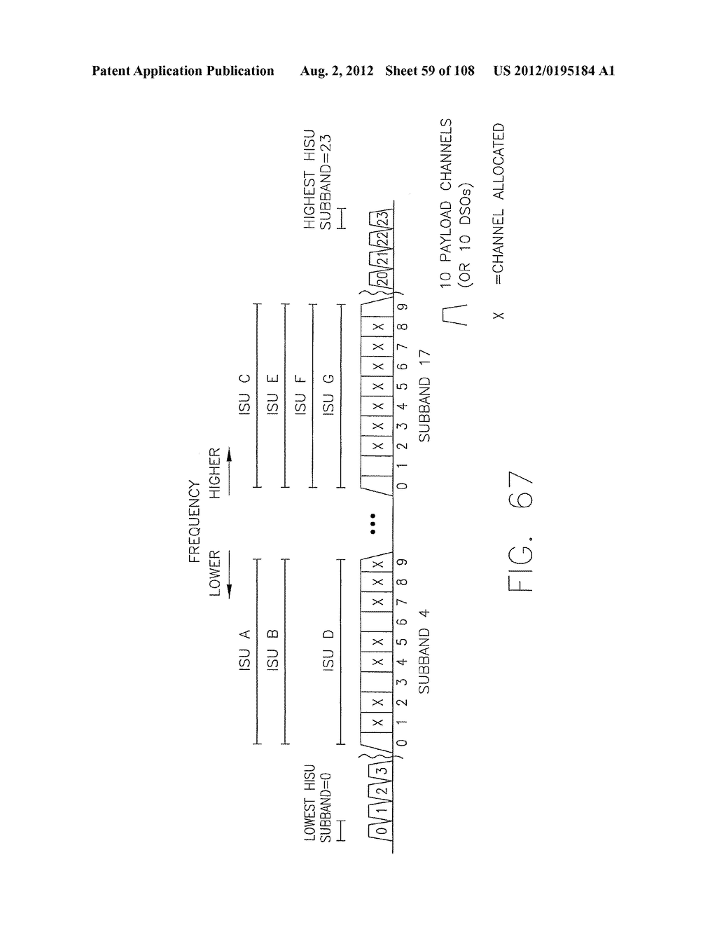 SYSTEMS AND METHODS FOR ORTHOGONAL FREQUENCY DIVISIONAL MULTIPLEXING - diagram, schematic, and image 60