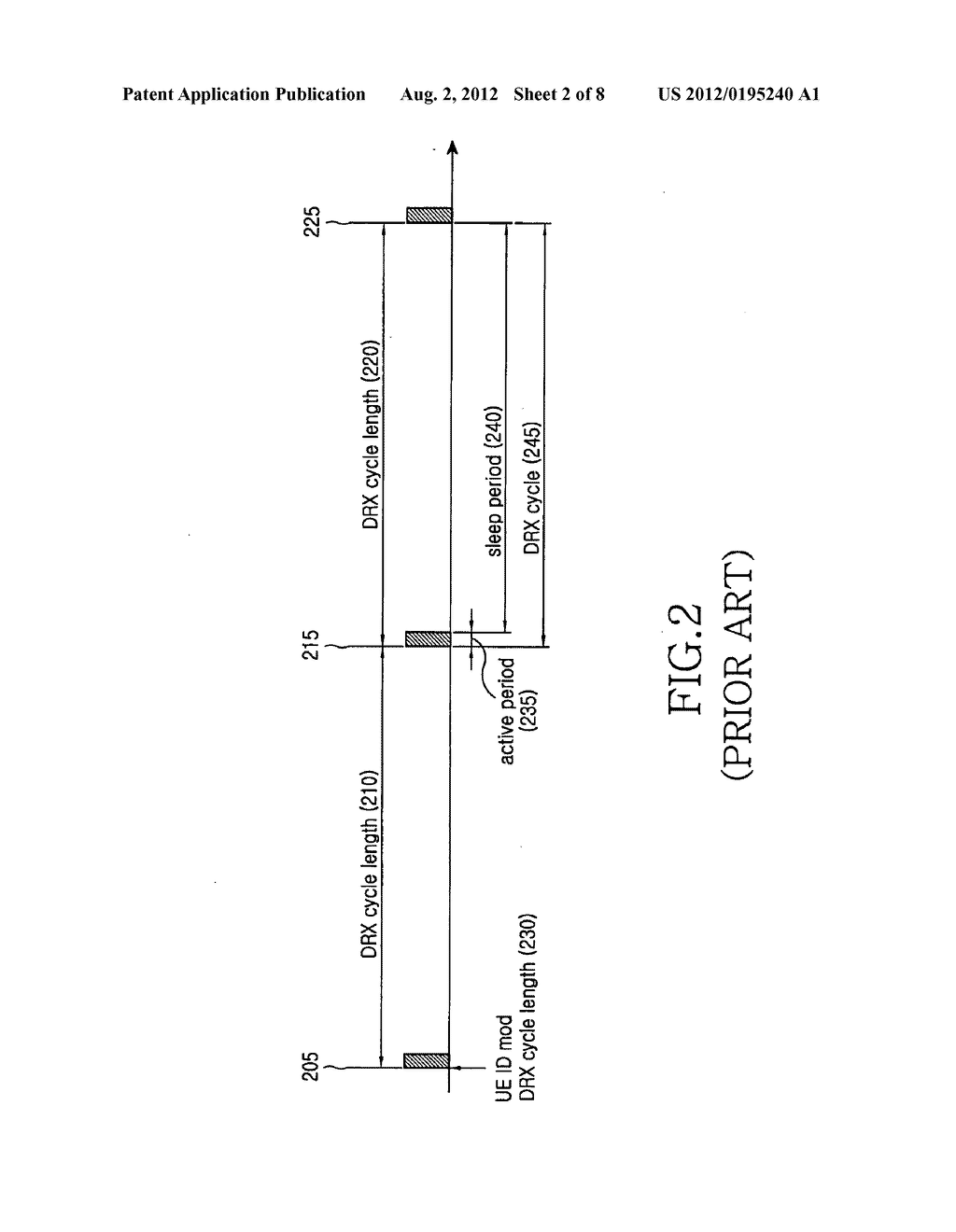 Method and apparatus for discontinuously receiving packet in a mobile     communication system - diagram, schematic, and image 03
