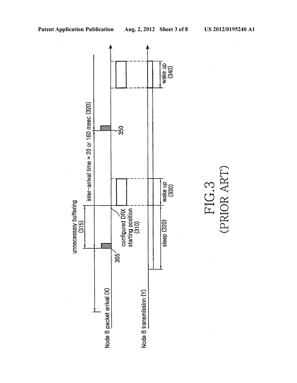 Method and apparatus for discontinuously receiving packet in a mobile     communication system - diagram, schematic, and image 04