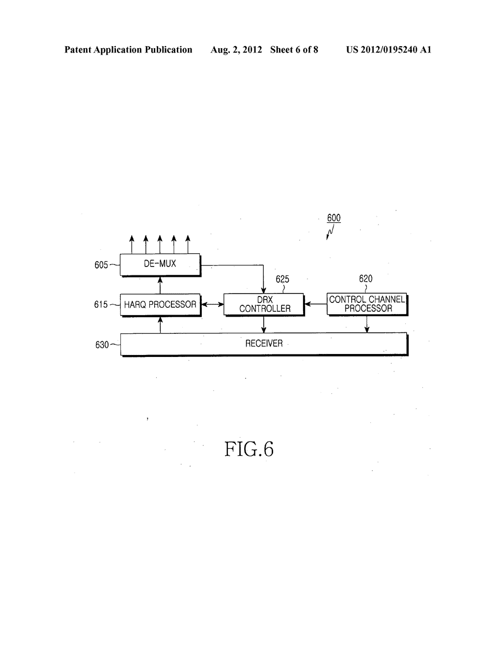 Method and apparatus for discontinuously receiving packet in a mobile     communication system - diagram, schematic, and image 07