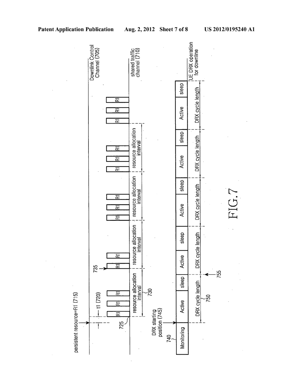 Method and apparatus for discontinuously receiving packet in a mobile     communication system - diagram, schematic, and image 08